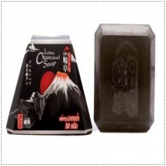 Gifu Lava Black Charcoal Soap to Remove Whiteheads Wrinkles