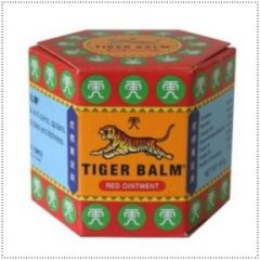Red Tiger Balm for Lumbar Pain and Migraine Relief