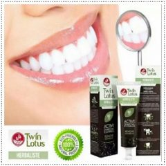 Herbaliste Activated Charcoal Toothpaste Bad Breath Halitosis Menthol Clove 100g