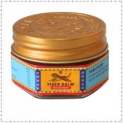 Red Tiger Balm Menthol Salve Cracked Heels Lumbago Gout 10g