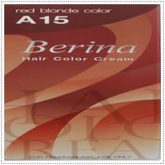 A15 Berina Red Blonde Permanent Hair Cream Auburn Strawberry Blonde Color