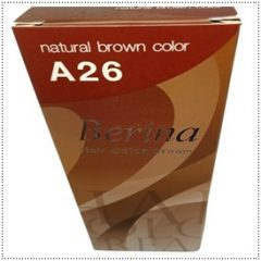 A26 Berina Natural Brown Permanent Hair Dye Color Brunette Hair