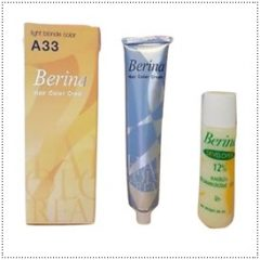 Berina A33 Light Blonde Permanent Hair Dye Color Cream
