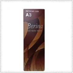 A3 Berina Red Brown Permanent Hair Dye Ginger Reddish Brown Brunette Auburn