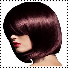Light Mahogany Brown Permanent Hair Dye