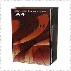 A4 Berina Dark Red Brown Permanent Hair Dye Color Brunette Auburn