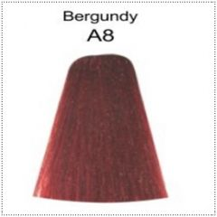 A8 Berina Burgundy Permanent Hair Dye Color Cream Maroon Hair Cream