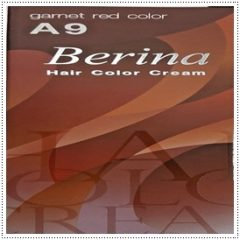 A9 Berina Garnet Red Permanent Hair Dye Scarlet Color Cream