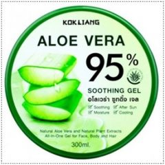 Kok Liang Aloe Vera Gel for Sunburn Vitamins A C E After Sun