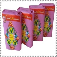 Parrot Botanicals Thai Herbal Soap Antioxidants Aloe Vera and Rose Scent