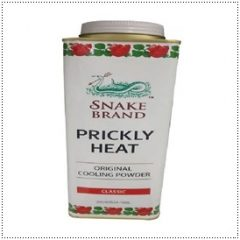Snake Brand Classic Original Prickley Heat Blackheads Menthol Antioxidants